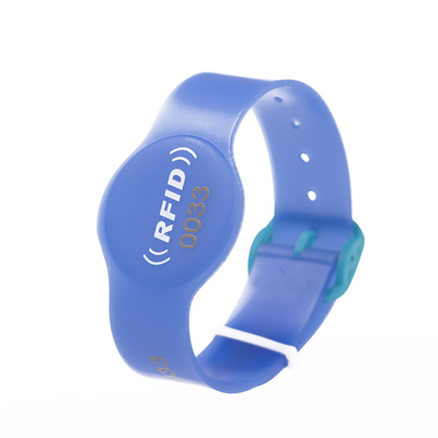NFC Jelly PVC Wristband