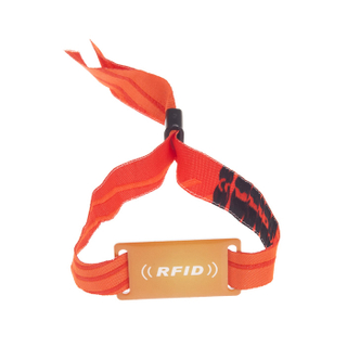 RFID Disposable Fabric Wristband