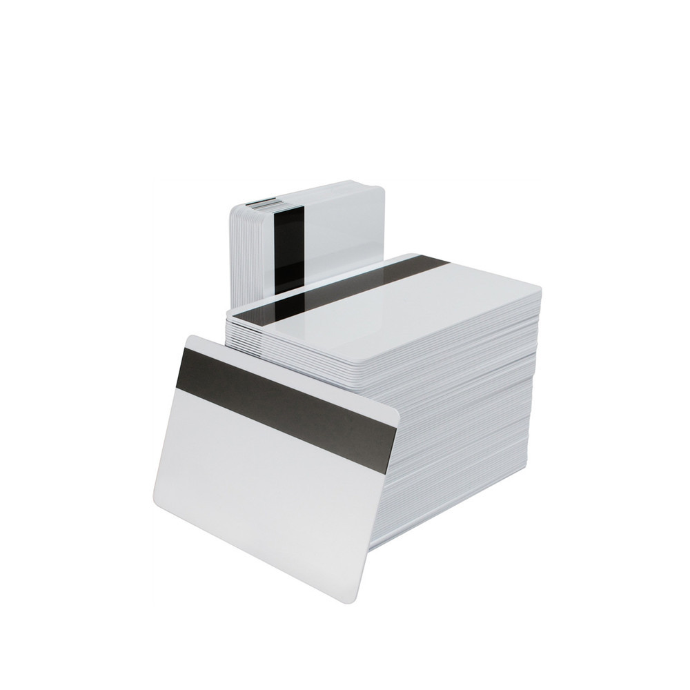 Magnetic Stripe Blank PVC Card